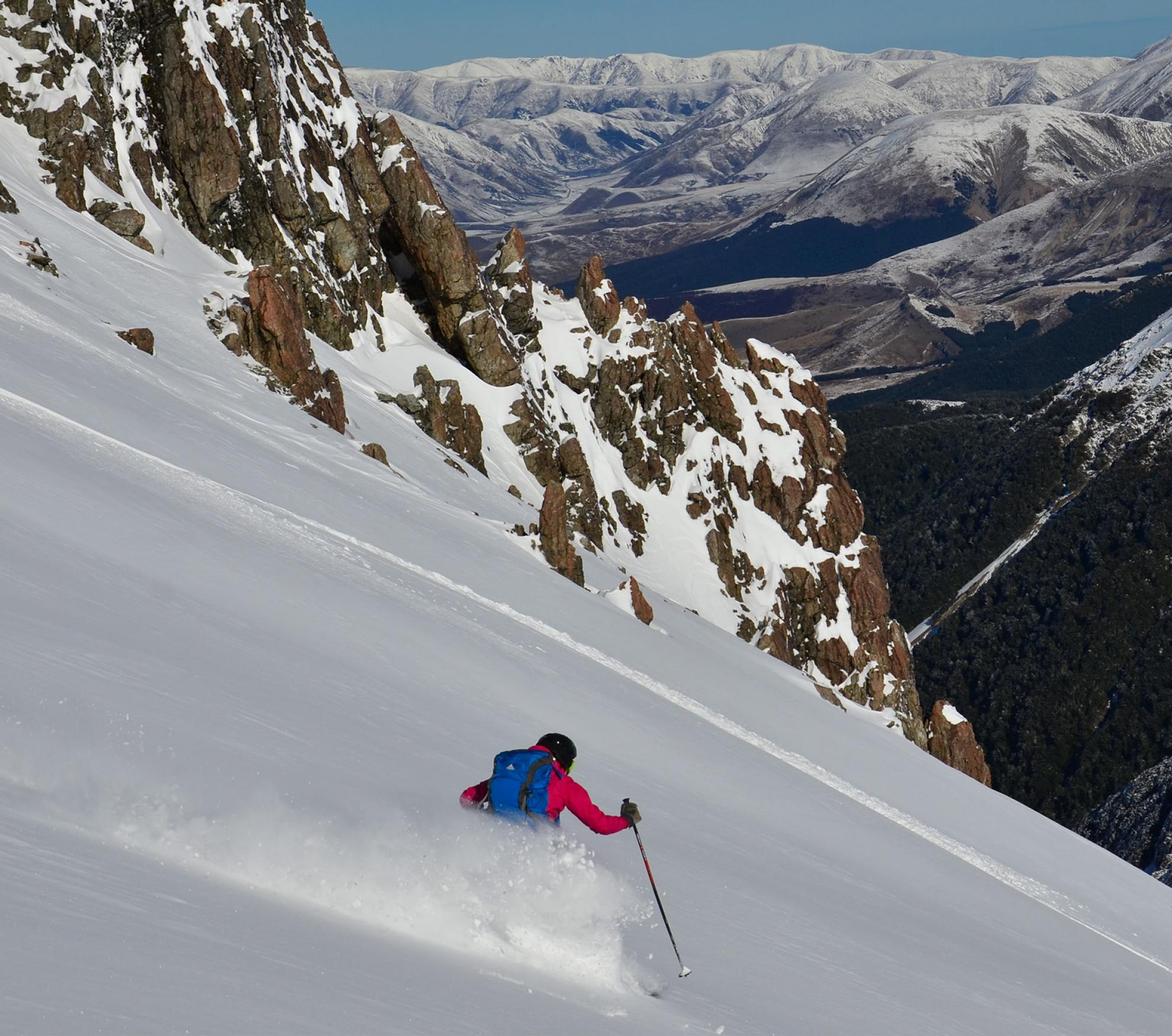 backcountry ski touring New Zealand