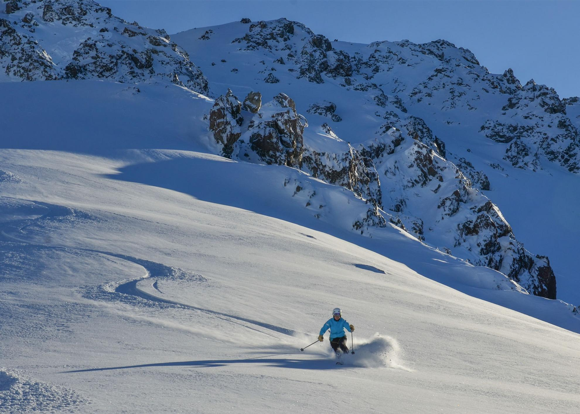 powder skiing New Zealand